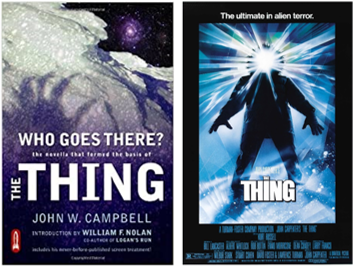 BOOK VERSUS FILM: The Thing