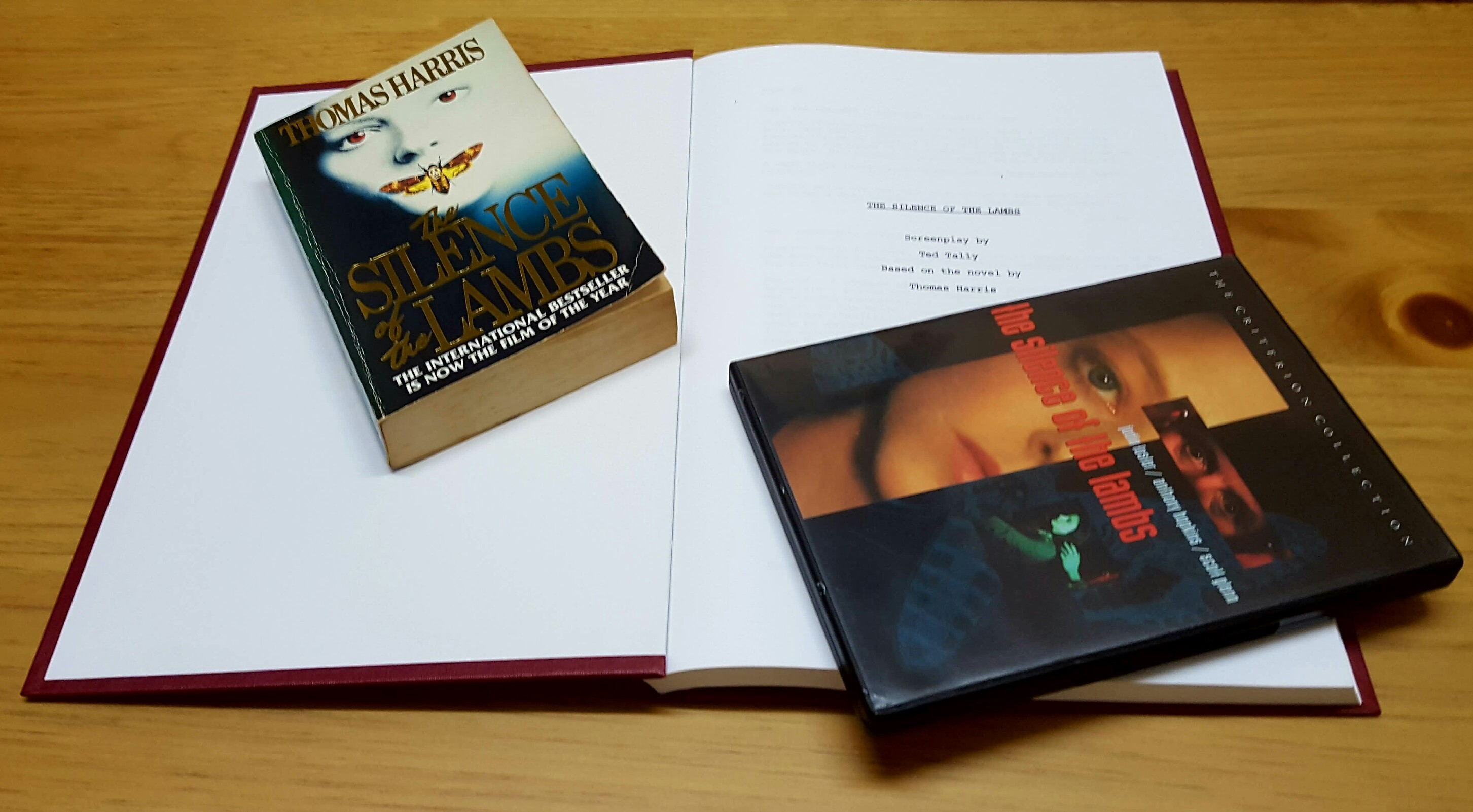 Silence Of The Lambs Book